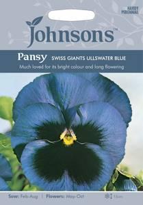 Bilde av Stemorsblomst 'Swiss Giants Ullswater Blue'
