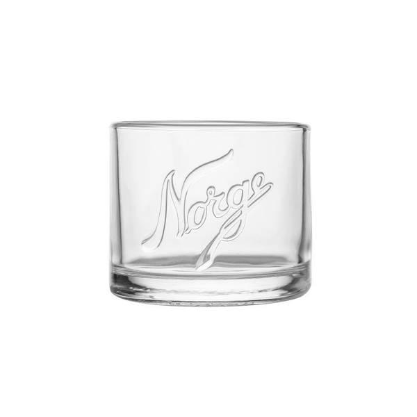 Lyslykt Norge Glass - 2pk