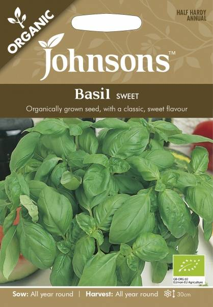 Basilikum 'Sweet' - Organic