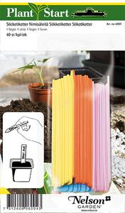 Bilde av Etiketter 40 stk - fire farger
