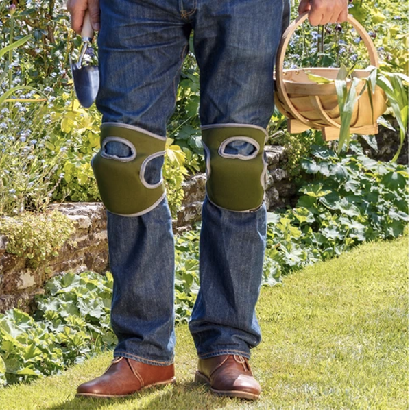 Knebeskyttere 2-pk, Kneelo® – eplegrønne