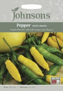 Bilde av Chilipepper 'Lemon' - Capsicum annuum