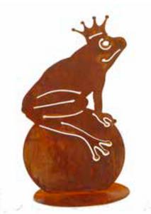 Bilde av Frosk silhuett sittende på kule
